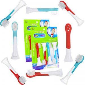 ITECHNIK brossettes de rechange, compatible avec Philips Sonicare hx6034 for Kids brossettes, pour les enfants à partir de 4 ans, Standard, 8 pièces de la marque ITECHNIK image 0 produit