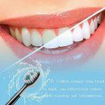 Jiuhuazi Brosse à Dents électrique Sonique Vibration Imperméable USB Recargable Smart Batterie Dents Sensibles 4 Modes 12 Stalles 3 Têtes de Remplacement dentistes recommandés de la marque image 2 produit