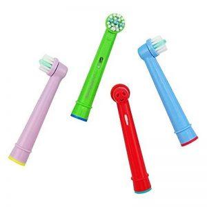 JJPRIME – Brosse à dents électrique têtes de remplacement compatibilité Braun Oral B 8pcs (Enfants) de la marque JJPRIME image 0 produit