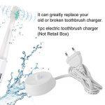 JullyelegantFR Braun Oral-B Brosse à Dents Trickle Chargeur, électrique Brosse à Dents Chargeur, Électrique Brosse à Dents Accessoires de Rechange pour Braun Oral-D D17 OC18, Blanc de la marque JullyelegantFR image 1 produit