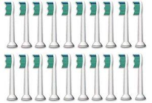 Kav Plus Lot de 20 têtes de rechange pour les brosses à dents électriques Philips Sonicare ProResults HX6013 et HX6014 de la marque KAV PLUS image 0 produit