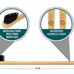 Lavish Essentials - Meilleur Brosse à Dents en Bambou, Charbon de Bois, Brosse à Dents en Bambou, Charbon de Bois Brosse à dents, Brosses à Dents en Bambou Biodégradable, Poignée Biodégradable   Paquet de 2   Brosse à Dents en Bois Organique et Biodégrada image 3 produit