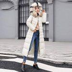 Longue Manteau Femme,Veste à Capuchon Coton-Doudounes Manteaux de Poche Fourrure Artificielle Bringbring de la marque BringBring_Tops image 2 produit
