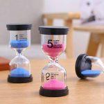 Lot d'horloges de sable programmables comprenant les les sabliers de 1min, 3min, 5min, 10min 15min 30min pour cadeau pour enfant bestseller de la marque Medigy image 4 produit