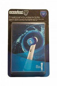 Lot de 10têtes de brosse à dents de remplacement têtes de brosse à dents 273038nazk 8B1, 10pièce en deux couleurs différentes de la marque Nevadent image 0 produit