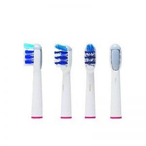 Lot de 8(2x 4) 4G Kitty®. Oral B Trizone (de 4brossettes EB30–4/SB de 30a). Plein de rechange compatible avec les suivants modèles de Oral-B brosse à dents électrique de la marque hofoo image 0 produit