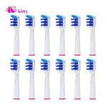 Lot de 8 (2 x 4) hofoo® brossettes. Oral B Trizone (EB30–4). Plein de rechange compatible avec les modèles de brosse à dents électrique Oral-B suivants : Vitality Precision Clean, vitality Floss Action, Vitality Sensitive, Vitality Pro White, Vitality Dua image 4 produit