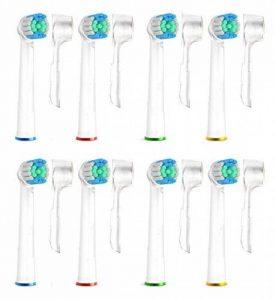 lot de 8 recharges pour brosse a dents oral B / Couverture hygiénique incluse de la marque Carolina Meyer ® image 0 produit