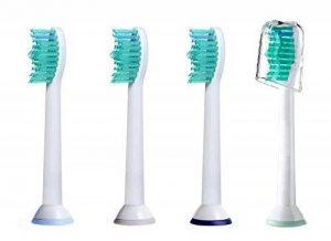 Lot de têtes de rechange pour brosse à dents électrique Philips Sonicare HX6013 HX6014 de la marque KAV PLUS image 0 produit