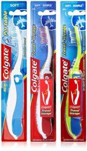NEW COLGATE Portable Folding brosse à dents souple DIVERS COULEURS DE VACANCES DE VOYAGE de la marque Colgate image 0 produit