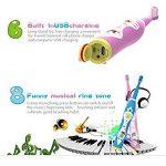 NJYTouch Enfants Brosse à dents électrique Brosse à dents sonique, rechargeable Brosse à dents électrique et 2 Têtes de brossage Replaceable de la marque NJYTouch image 2 produit