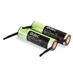 Odec Batterie ORAL-B 2500mAh Ni-MH 1,2V, 2 Piles de Remplacement pour Triumph Professional Care 9000/9400/9500/9900/Smart Serien 4000/5000 (Remplacer 3731) de la marque Odec image 0 produit
