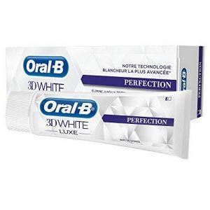 Oral-B 3D White Luxe Perfection Dentifrice 75ml - Lot de 2 de la marque Oral-B image 0 produit