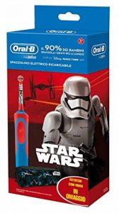 Oral-B - 81633851- Brosse à dents électrique, Brosse rotative-oscillante - Bleu, Rouge de la marque Oral-B image 0 produit