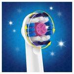 Oral-B Braun 3D Têtes de rechange pour brosse à dent rechargeable - Pack de 4 brossettes - Coloris aléatoire de la marque Oral-B image 1 produit