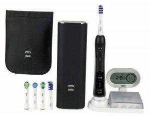 Oral-B Brosse à Dents Électrique Rechargeable Black 7000 Trizone avec 5 Brossettes de la marque Oral-B image 0 produit