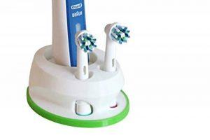 Oral-B Brosse à Dents Support 3D Imprimé fabriqué en Allemagne pour 2Brosses Vert de la marque V3-ENGINEERING image 0 produit