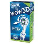 Oral-B Brosse à Dents Électrique Rotative Pro 600 Cross Action Wow de la marque Oral-B image 4 produit