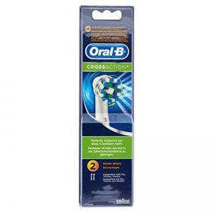 Oral-B Brossettes de Rechange CrossAction pour Brosse à Dents Electrique x2 de la marque Oral-B image 0 produit