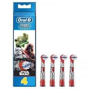 Oral-B Brossettes De Rechange Pour Brosse À Dents Électrique Star Wars x4 de la marque Oral-B image 0 produit