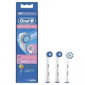 Oral-B - Brossettes de rechange Sensitive Clean lot de 3 - Modèle aléatoire de la marque Oral-B image 0 produit