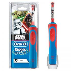 Oral B D12Star Wars Brosse à dents à bascule, Bleu et Rouge de la marque Oral-B image 0 produit