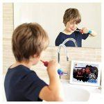 Oral B D12Star Wars Brosse à dents à bascule, Bleu et Rouge de la marque Oral-B image 4 produit