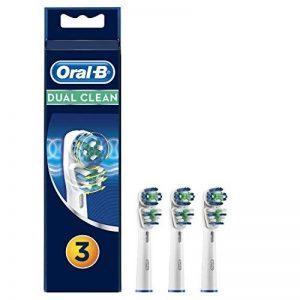 Oral-B - Dual Clean EB417 Pack de 3 - Brossettes pour brosses à dents électriques de la marque Oral-B image 0 produit