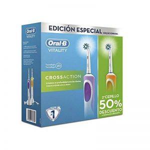 Oral B Duo Vitality Cross Action Pack dentaire de la marque Oral-B image 0 produit