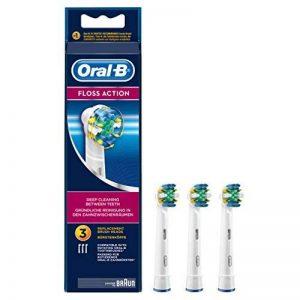 Oral-B Floss Action Brossettes de Rechange pour Brosse À Dents Électrique x3 de la marque Oral-B image 0 produit