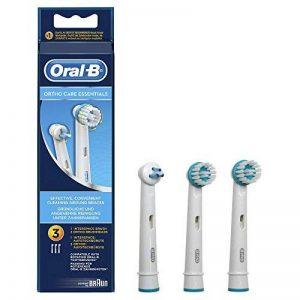 Oral-B - Kit Orthodontique OD17 pour Brosses à Dents Electriques Porteurs d'Appareils Dentaires- Pack de 3 Brossettes de la marque Oral-B image 0 produit