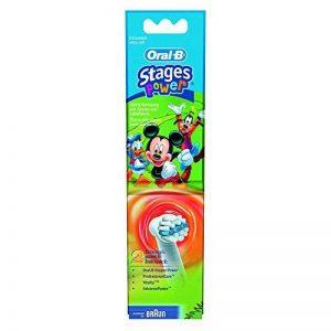 Oral-B Mickey Mouse Lot de 2 têtes pour brosse à dents de la marque Oral-B image 0 produit