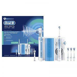 Oral-B Oxyjet Hydropulseur Système de Nettoyage avec Pro 1000 Brosse à Dents Électrique de la marque Oral-B image 0 produit