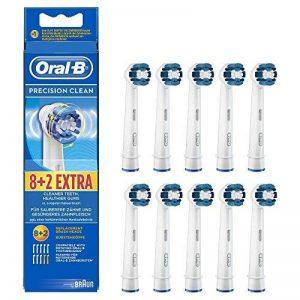 Oral-B Precision Clean Brossette de Rechange pour Brosse à Dents Électrique x 10 de la marque Braun image 0 produit