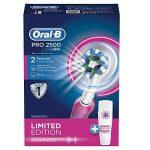 Oral-B Pro 2500 Crossaction Brosse à Dents Electrique Rechargeable Pack Bonus Edition Rose de la marque Oral-B image 2 produit