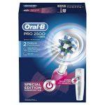 Oral-B Pro 2500 Crossaction Brosse à Dents Electrique Rechargeable Pack Bonus Edition Rose de la marque Oral-B image 3 produit