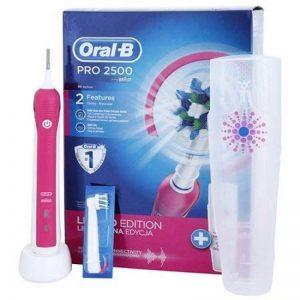 Oral-B Pro 2500électrique rotative de vibrant rose de la marque Oral-B image 0 produit
