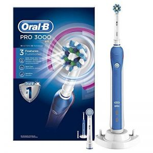 Oral-B PRO 3000 CrossAction Brosse à Dents Electrique Rechargeable de la marque Oral-B image 0 produit