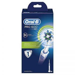 Oral-B Pro 600 Cross Action - Brosse à Dents Électrique Rechargeable - Edition Blanche de la marque Oral-B image 0 produit
