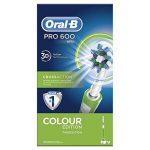 Oral-B Pro 600 Cross Action - Brosse à Dents Électrique Rechargeable - Edition Verte de la marque Oral-B image 3 produit