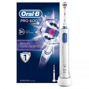 Oral-B Pro 600 White & Clean - Brosse à Dents Électrique Rechargeable de la marque Oral-B image 0 produit