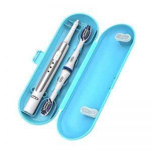 Oral B Pulsonic fin de Housse de voyage, Poketech Cases de voyage pour Oral B Pulsonic Brosse à dents sonique Premium de la marque Poketech image 0 produit