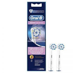 Oral-B Sensi Clean Brosse à dents électrique - pack de 2 Têtes de remplacement de la marque Oral-B image 0 produit