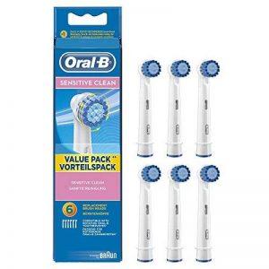 Oral-B Sensitive Clean EBS17-6 Brossette de Rechange pour Brosse à Dents de la marque Oral-B image 0 produit
