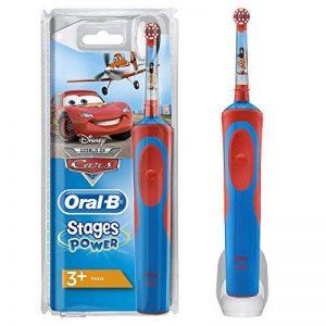 Oral-B Stages Power - Brosse a Dents Electrique pour Enfant de + de 3 ans - Cars & Planes de Disney de la marque Oral-B image 0 produit