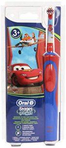 Oral-B Stages Power D12.513.K Brosse à Dents Electrique/Rotative pour Enfants - Cars de la marque HEALTH image 0 produit