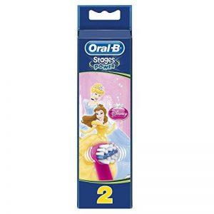 Oral-B Stages Power Disney - 2 Brossettes de Rechange pour Brosse à Dents Électrique - Modèle aléatoire de la marque Oral-B image 0 produit