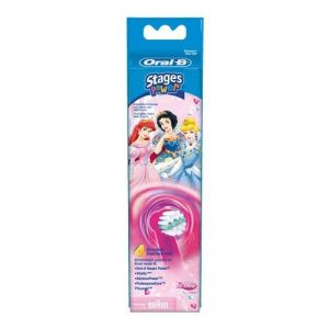 Oral-B Stages Power Princess - Replacement Brush Heads (1 pack = 4 pieces) For kids! de la marque Procter & Gamble image 0 produit