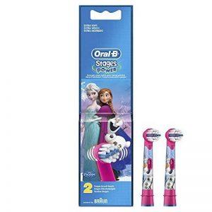 Oral-B Stages Power Reine des Neiges - 2 Brossettes de Rechange pour Brosse à Dents Électrique de la marque Oral-B image 0 produit