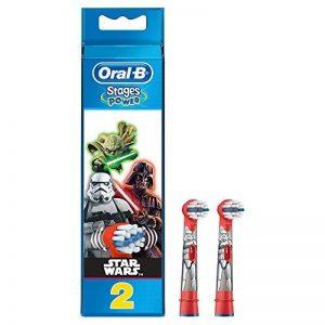 Oral-B Stages Power Star Wars - 2 Brossettes De Rechange pour Brosse à Dents Électrique de la marque Oral-B image 0 produit
